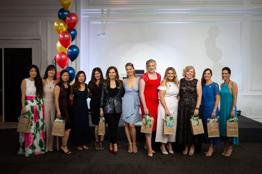 MacLachlan College Ruby Gala parents group photo