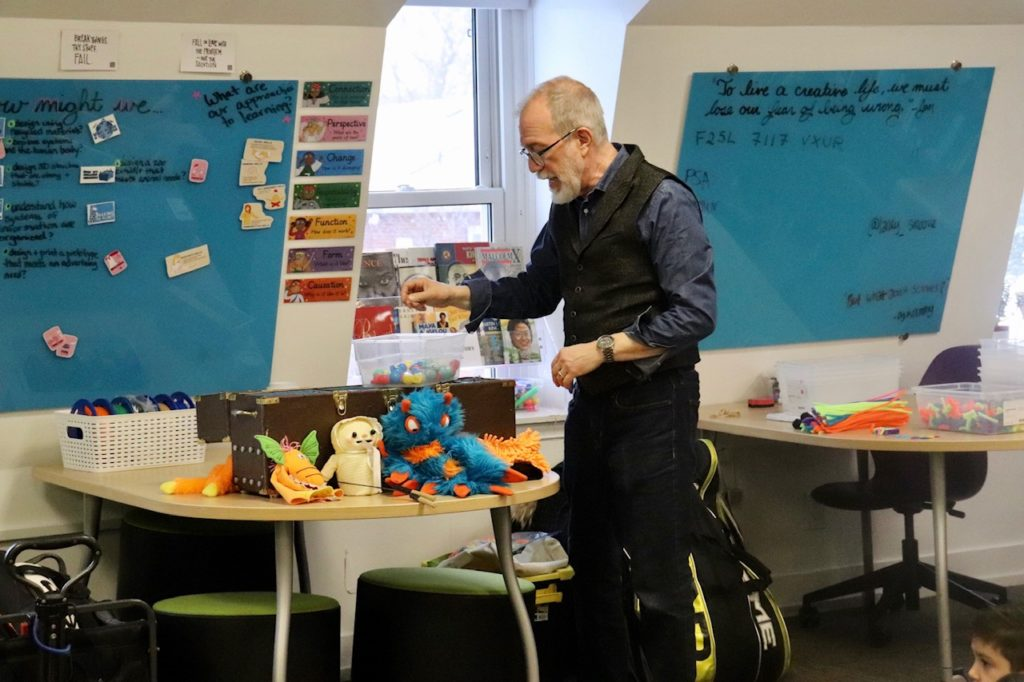 Puppet Workshop at MacLachlan College